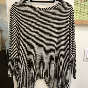 Anthropologie Striped Tulip Top